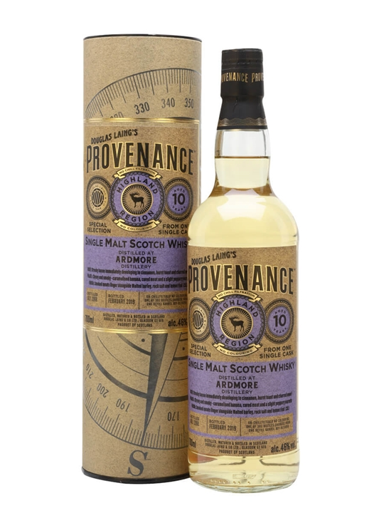 Ardmore 2008 / 10 Year Old / Provenance Highland Whisky