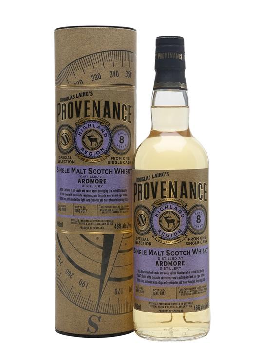 Ardmore 2009 / 8 Year Old / Provenance Highland Whisky