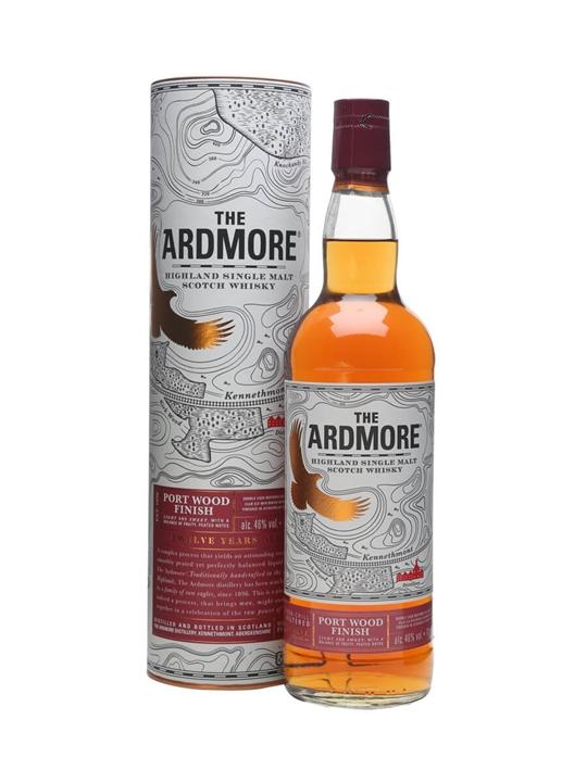 Ardmore 12 Year Old / Port Wood Finish Highland Whisky