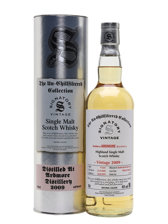 Ardmore 2009 / 9 Year Old / Signatory Highland Whisky