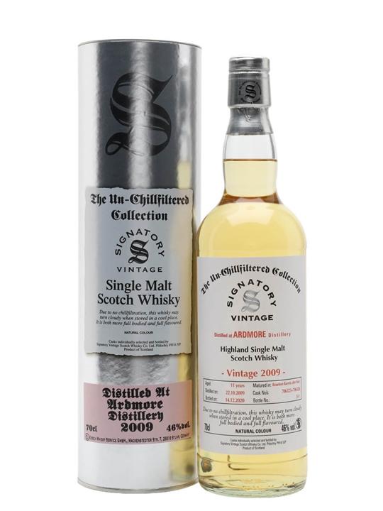 Ardmore 2009 / 11 Year Old / Signatory Highland Whisky