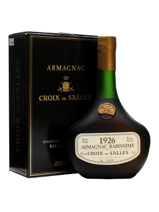 Croix de Salles 1926 Armagnac / Bot.1993