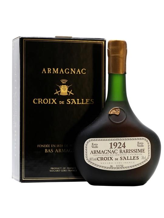 Croix de Salles 1924 Armagnac / Bot.1993