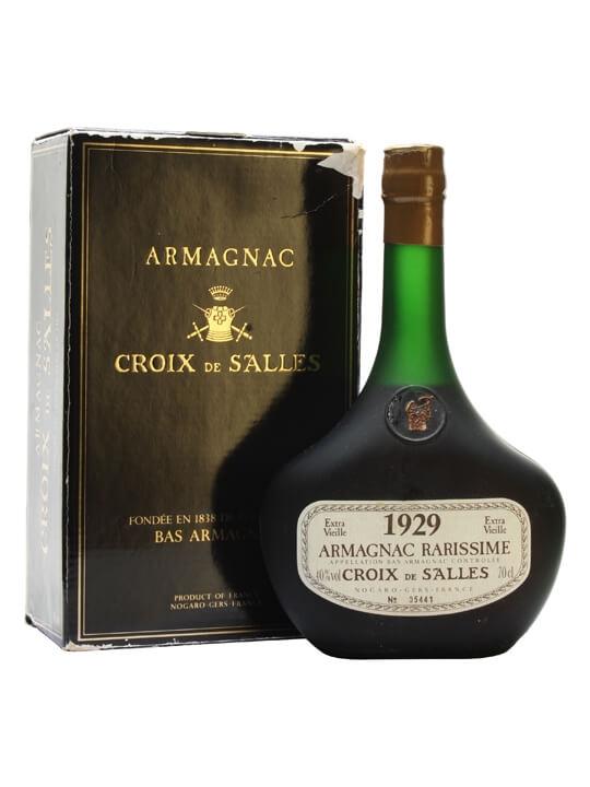 Croix de Salles 1929 Armagnac / Bot.1988