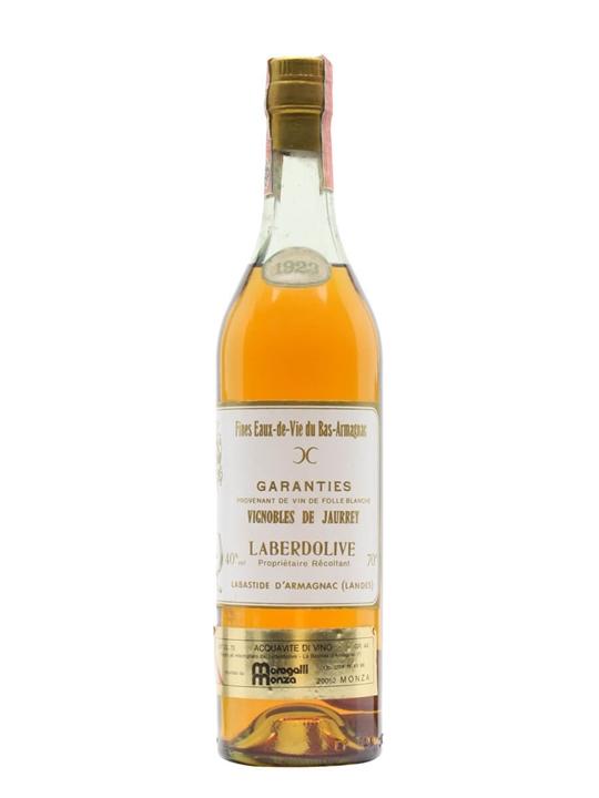 Vignobles de Jaurrey 1923 Armagnac / Laberdolive