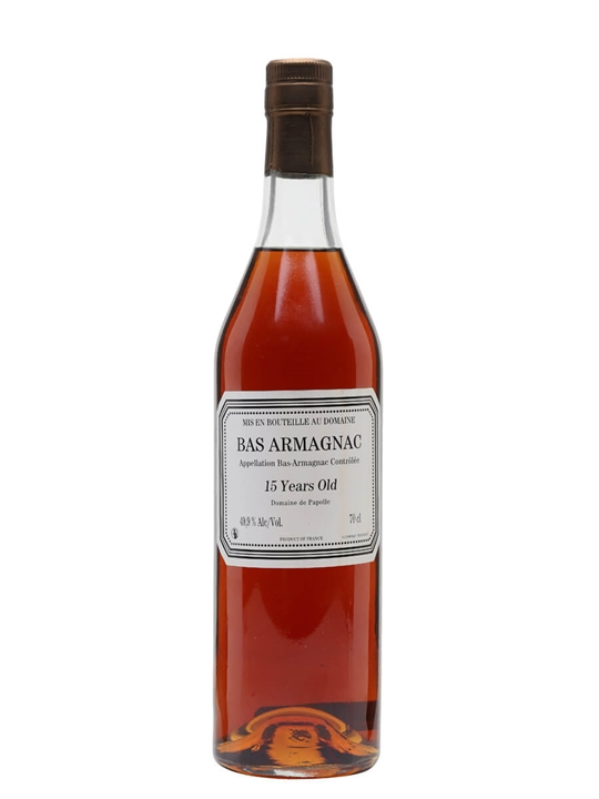 Domaine de Papolle 15 Year Old Armagnac