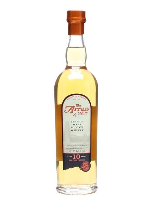 Arran 10 Year Old / Small Bottle Island Single Malt Scotch Whisky