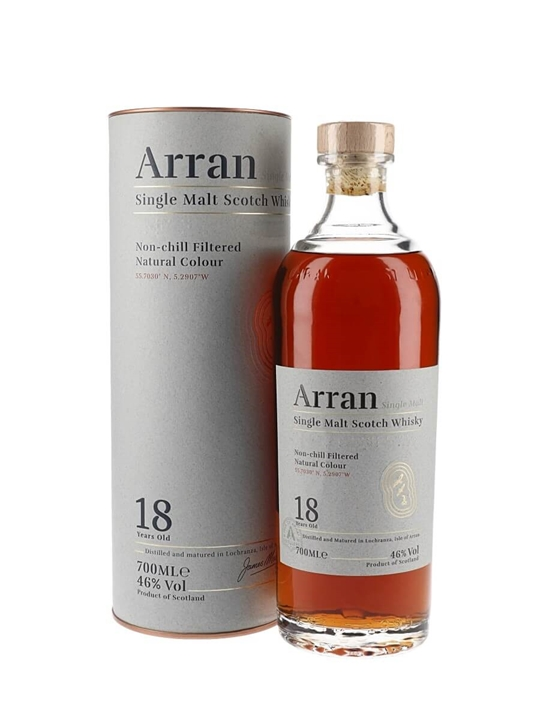 Arran 18 Year Old Island Single Malt Scotch Whisky