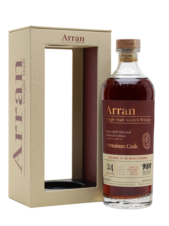 Arran 1996 / 24 Year Old / Exclusive To The Whisky Exchange Island Whisky