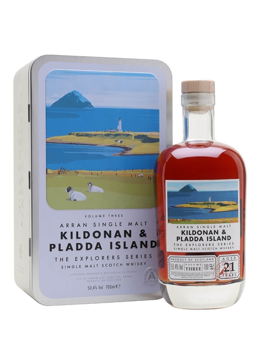 Arran 21 Year Old Kildonan & Pladda Island / Explorers Series Vol.3 Island Whisky