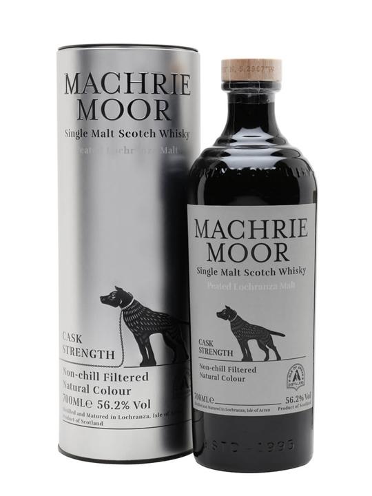 Arran Machrie Moor Cask Strength / Peated Island Whisky