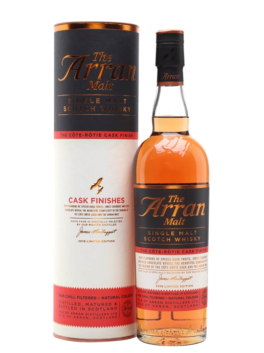 Arran Cote Rotie Cask Finish Island Single Malt Scotch Whisky