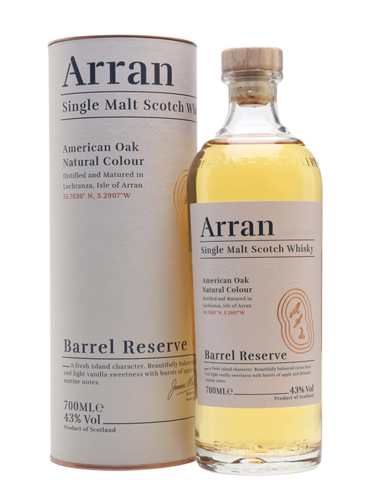 Arran Barrel Reserve Island Single Malt Scotch Whisky