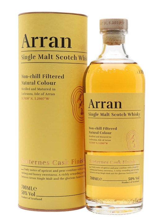 Arran Sauternes Cask Finish Island Single Malt Scotch Whisky