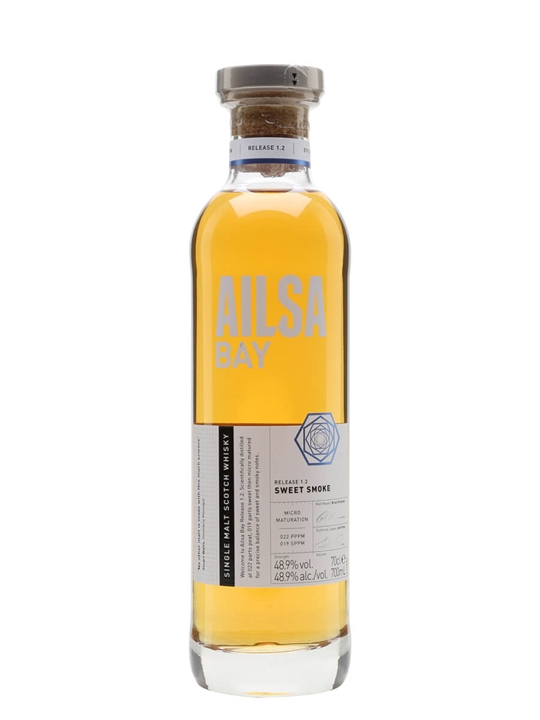 Ailsa Bay Sweet Smoke Lowland Single Malt Scotch Whisky