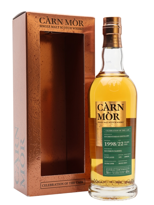 Auchentoshan 1998 / 22 Year Old / Carn Mor Celebration Of The Cask Lowland Whisky