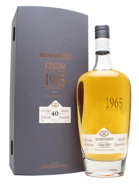 Auchentoshan 1965 / 40 Year Old / Bourbon Cask Lowland Whisky