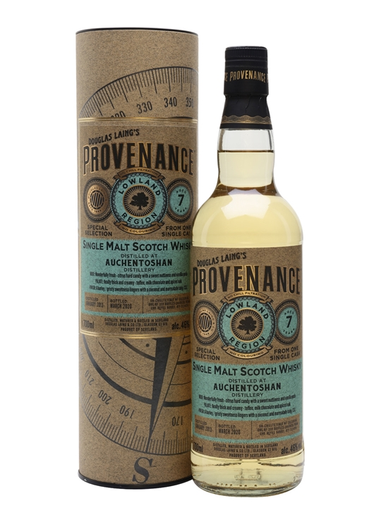Auchentoshan 2013 / 7 Year Old / Provenance Lowland Whisky
