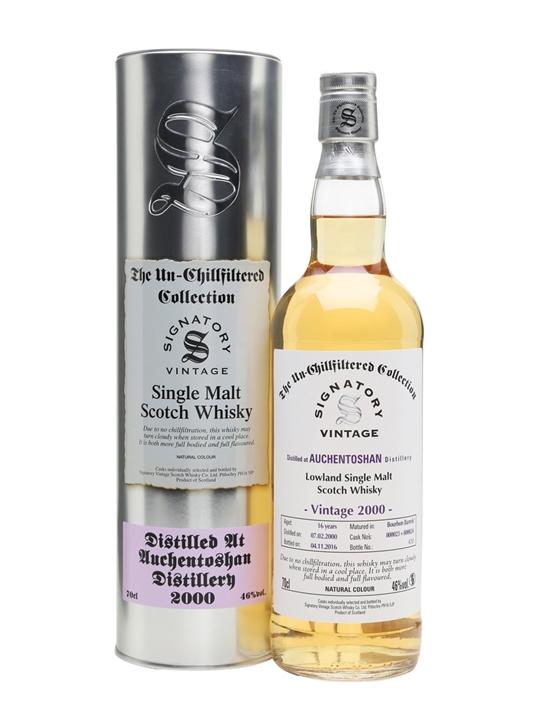 Auchentoshan 2000 / 16 Year Old / Cask 800023+24 / Signatory Lowland Whisky