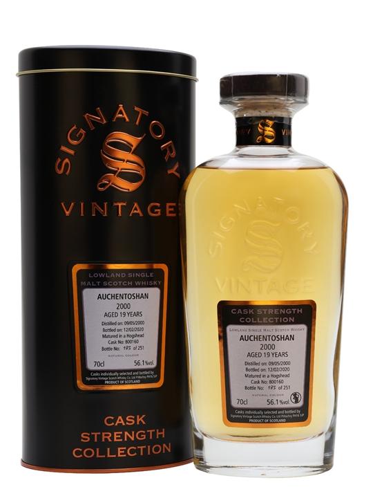 Auchentoshan 2000 / 19 Year Old / Signatory Lowland Whisky
