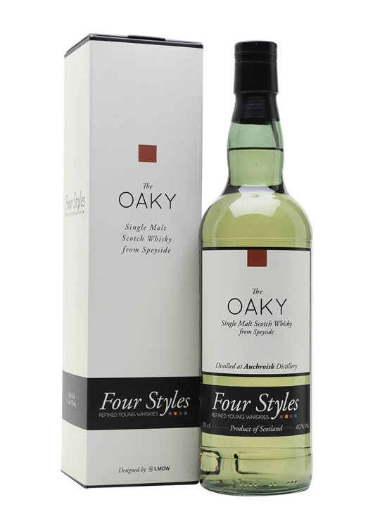 Auchroisk 2012 / The Oaky / Four Styles Speyside Whisky