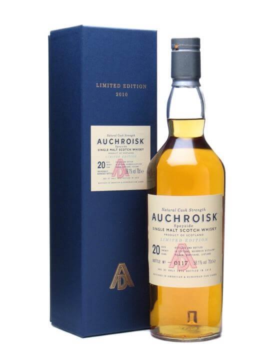 Auchroisk 20 Year Old / Bot.2010 Speyside Single Malt Scotch Whisky