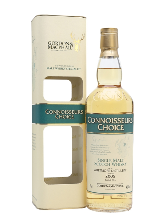 Aultmore 2005 / Bot.2016 / Connoisseurs Choice Speyside Whisky