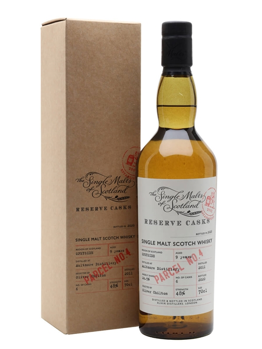 Aultmore 9 Years Old / Reserve Cask Parcel 4 Speyside Whisky