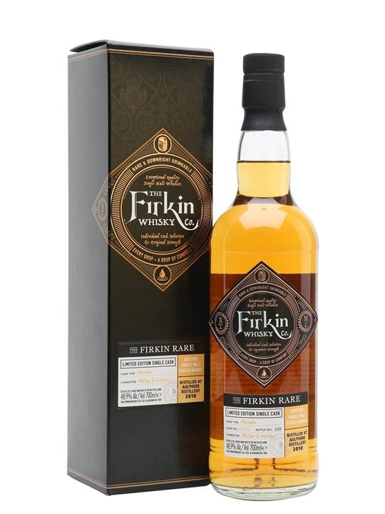 Aultmore 2010 / The Firkin Rare Speyside Single Malt Scotch Whisky