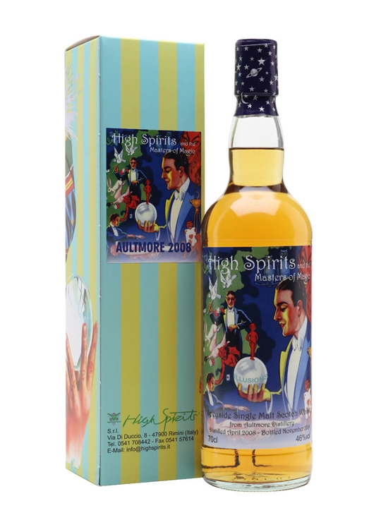 Aultmore 2008 / 11 Year Old / High Spirits Speyside Whisky