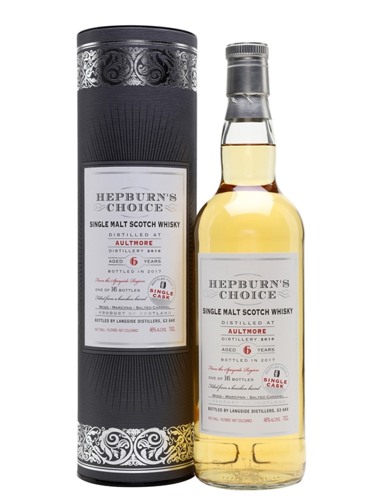 Aultmore 2010 / 6 Year Old / Hepburn's Choice Speyside Whisky