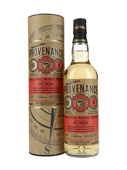 Aultmore 2011 / 8 Year Old / Provenance Speyside Whisky