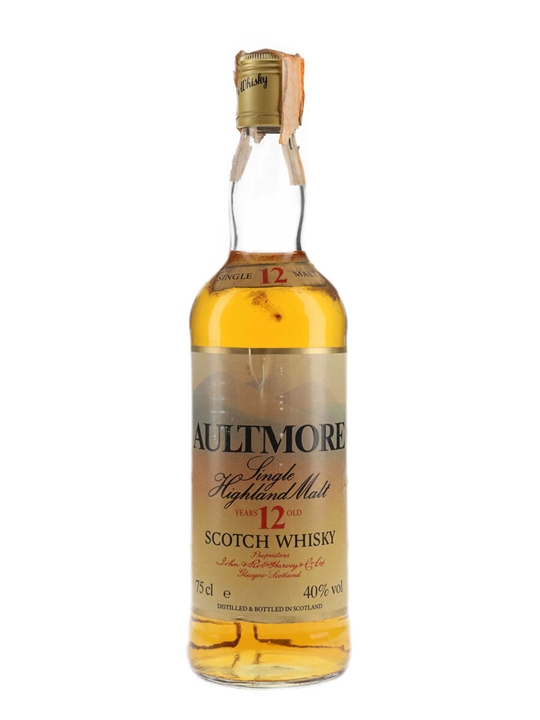 Aultmore 12 Year Old / Bot.1980s Speyside Single Malt Scotch Whisky