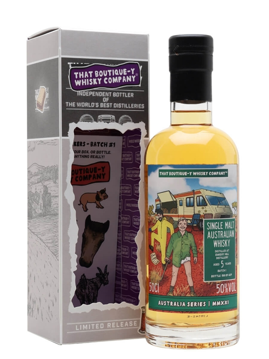 Bakery Hill Batch 1 / 5 Year Old / Tbwc Australian Series Single Whisky