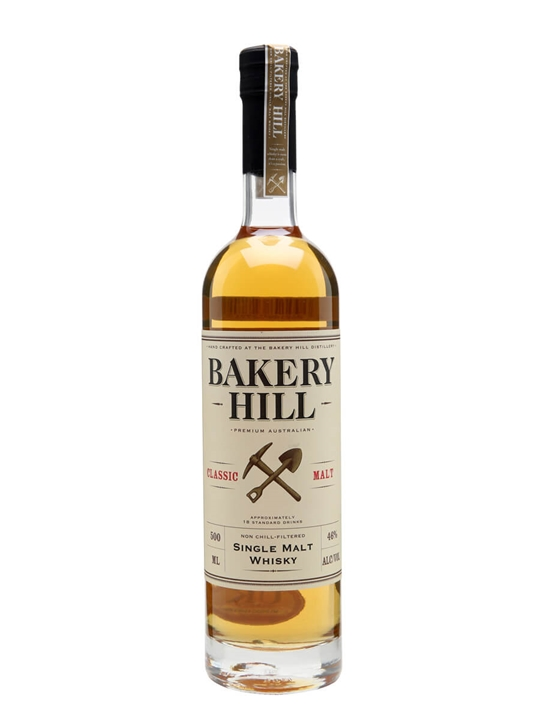 Bakery Hill Classic / Half Litre Australian Single Malt Whisky