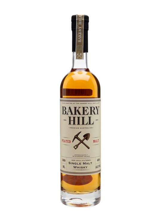 Bakery Hill Peated / Half Litre Australian Single Malt Whisky