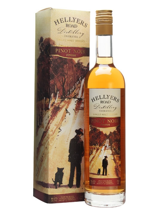 Hellyers Road Pinot Noir Finish Australian Single Malt Whisky