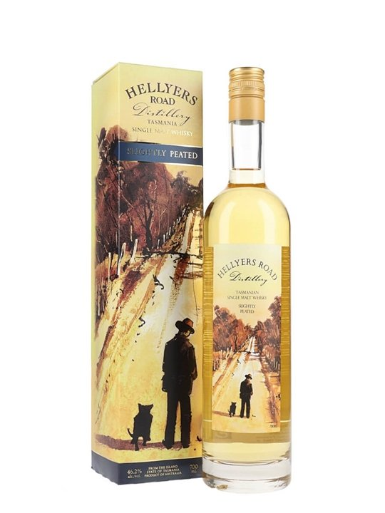 Hellyers Road Slightly Peated Australian Single Malt Whisky