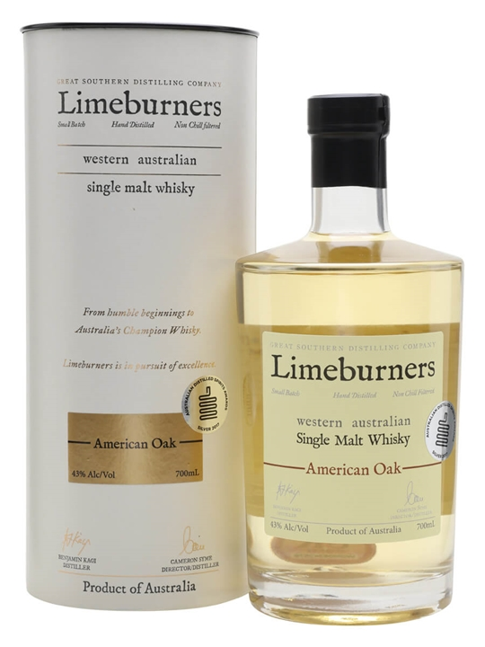 Limeburners American Oak Australian Single Malt Whisky