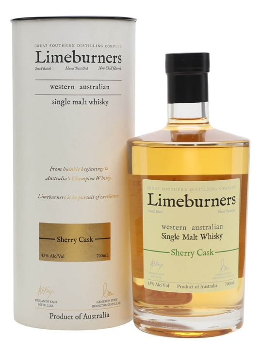 Limeburners Sherry Cask Australian Single Malt Whisky