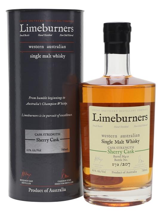 Limeburners Sherry Cask / Cask Strength Australian Single Malt Whisky