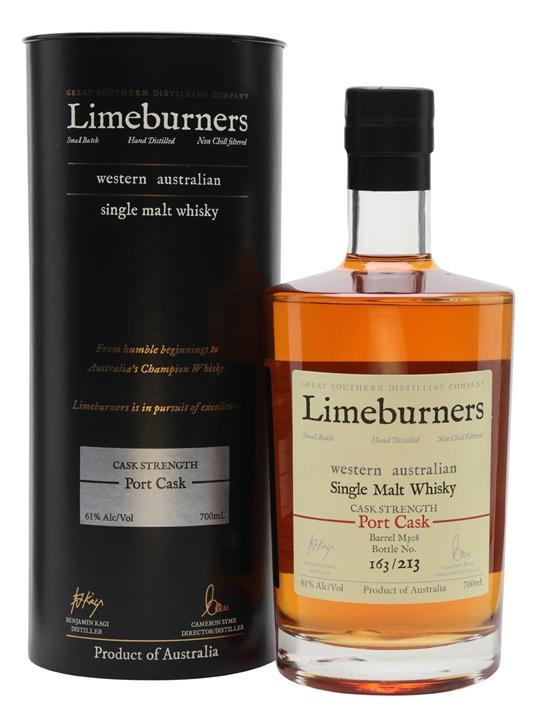 Limeburners Port Cask / Cask Strength Australian Single Malt Whisky