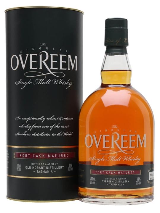 Overeem Port Cask Single Malt Whisky / Cask #127 Australian Whisky