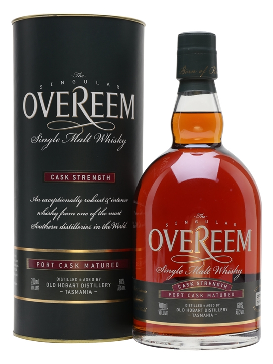 Overeem Port Cask Strength Single Malt Whisky / Cask #116 Australian Whisky