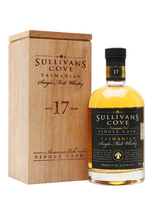 Sullivans Cove 17 Year Old / American Oak Single cask Australian Whisky