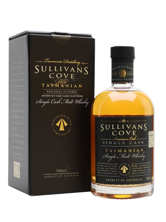 Sullivans Cove American Oak Single Cask Whisky Australian Whisky