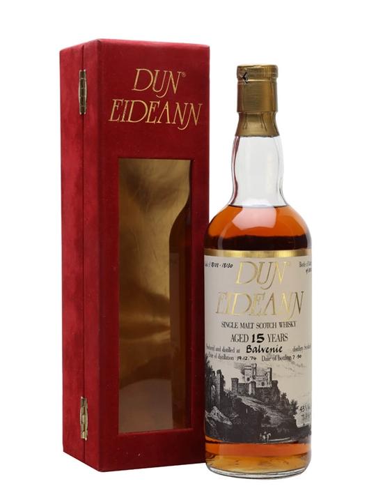 Balvenie 1974 / 15 Year Old / Dun Eideann Speyside Whisky
