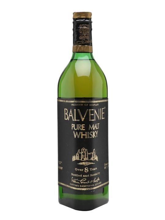 Balvenie 8 Year Old / Bot.1970s Speyside Single Malt Scotch Whisky