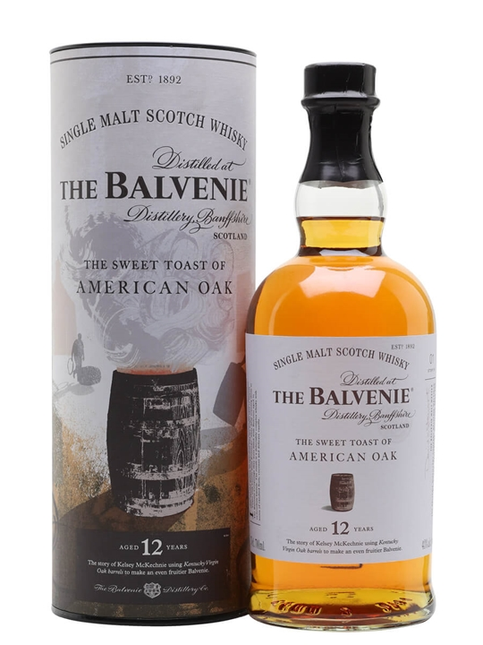 Balvenie Sweet Toast Of American Oak 12 Year Old / Stories 1 Speyside Whisky