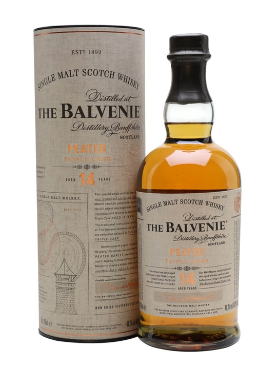 Balvenie 14 Year Old / Peated Triple Cask Speyside Whisky